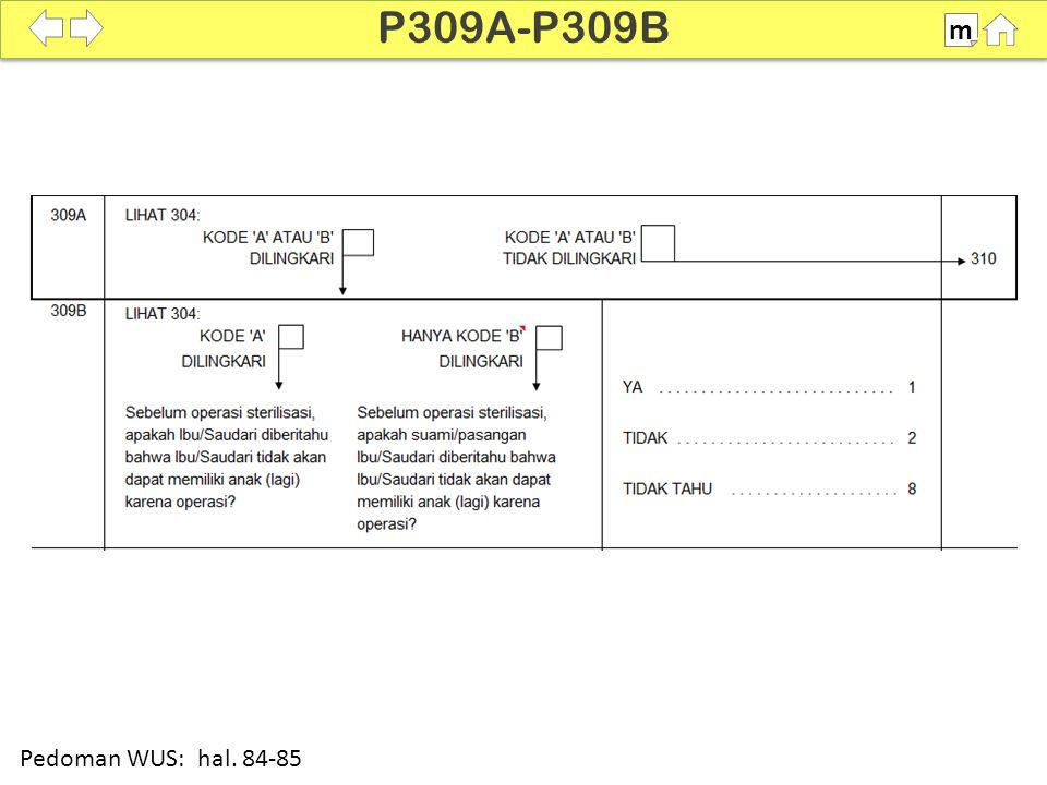 P309A-P309B m SDKI 2012 100% Pedoman WUS: hal. 84-85