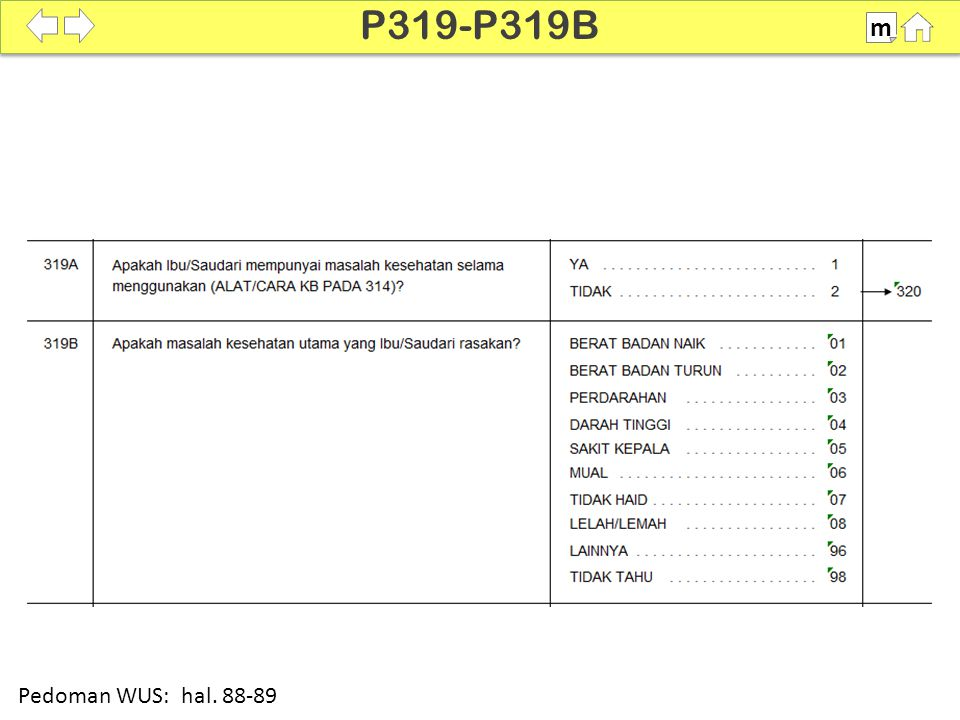P319-P319B m SDKI 2012 100% Pedoman WUS: hal. 88-89