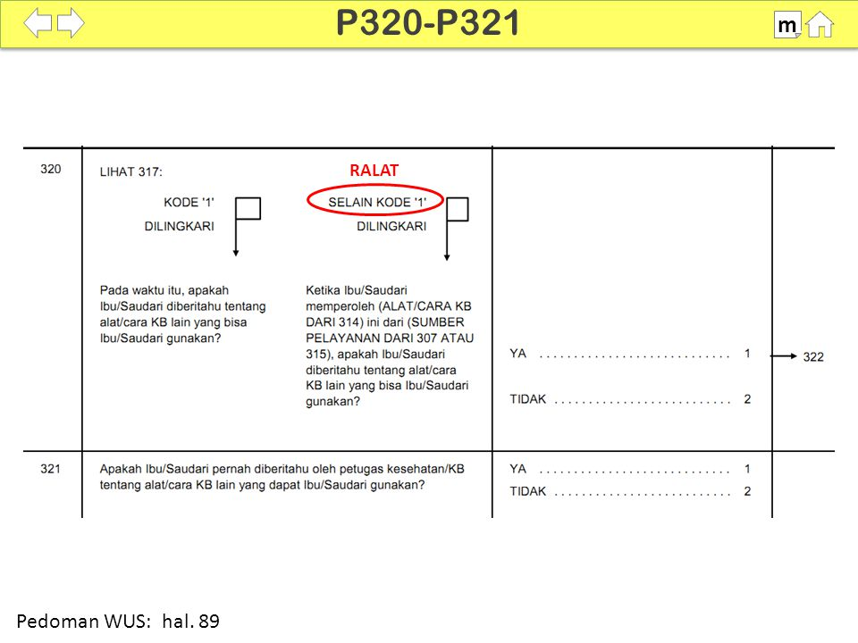 P320-P321 m SDKI 2012 100% RALAT Pedoman WUS: hal. 89