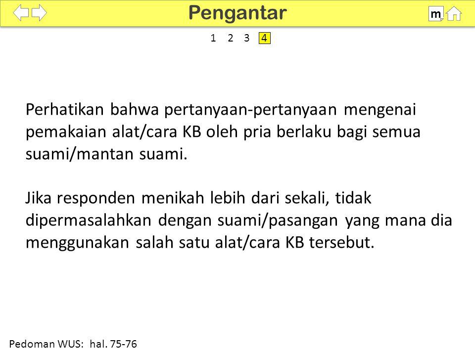 Pengantar m. SDKI 2012. 100% 1. 2. 3. 4.