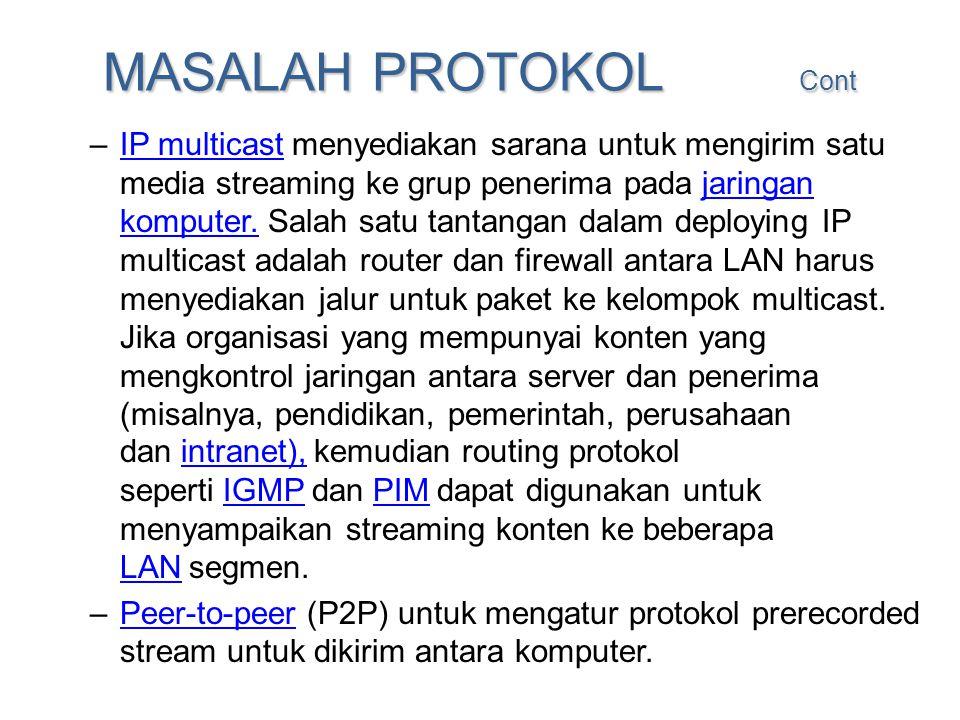 MASALAH PROTOKOL Cont