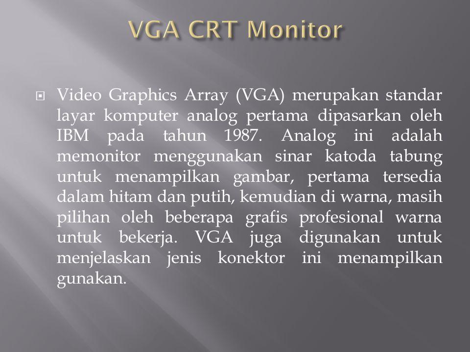 VGA CRT Monitor