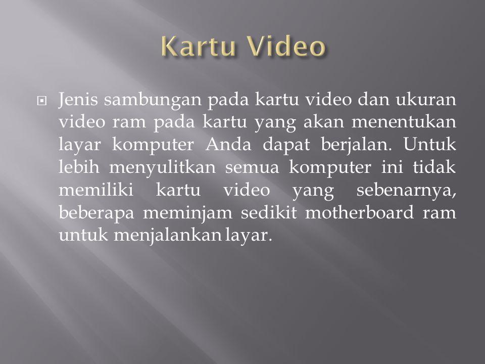 Kartu Video
