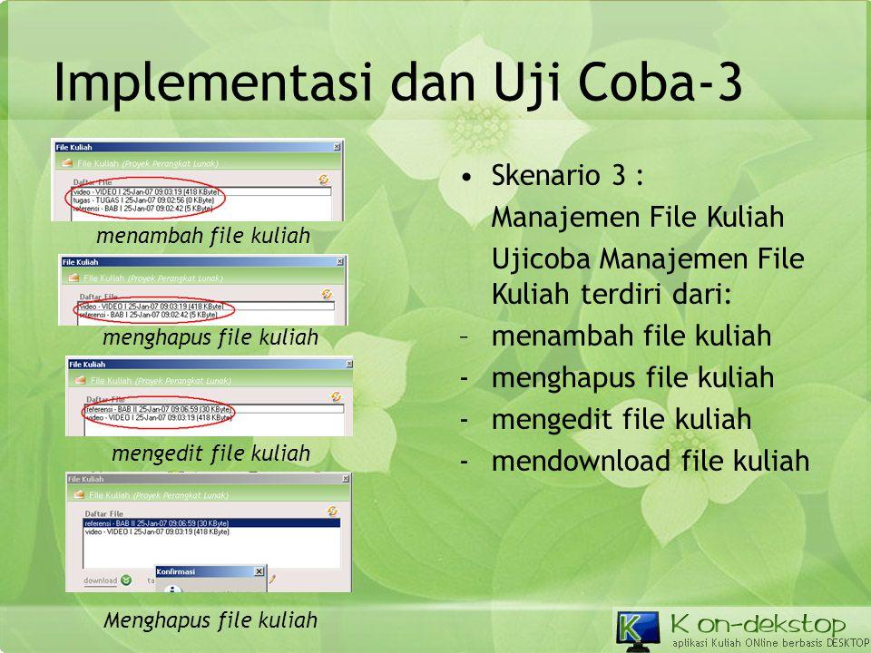 Implementasi dan Uji Coba-3