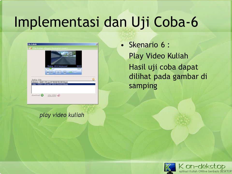 Implementasi dan Uji Coba-6
