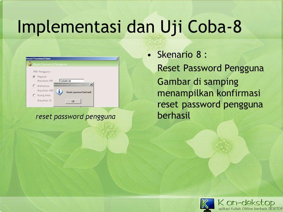 Implementasi dan Uji Coba-8