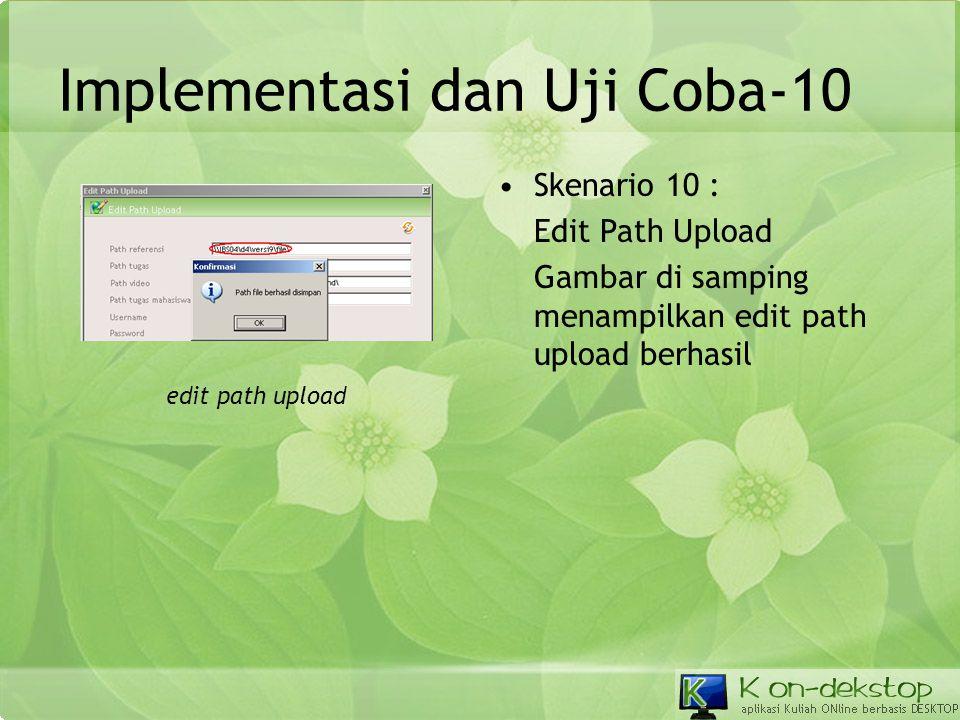 Implementasi dan Uji Coba-10