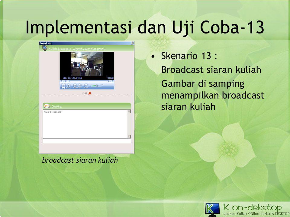 Implementasi dan Uji Coba-13