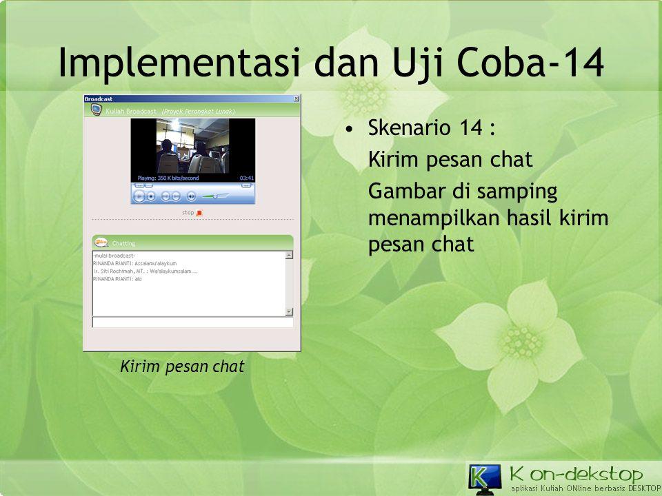 Implementasi dan Uji Coba-14