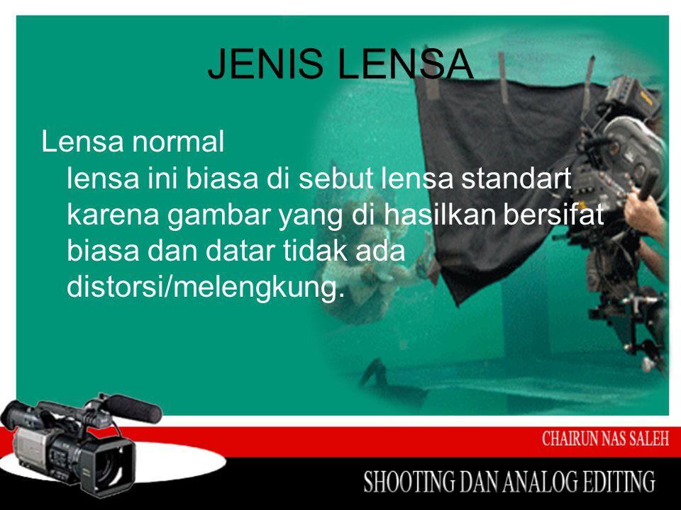 JENIS LENSA