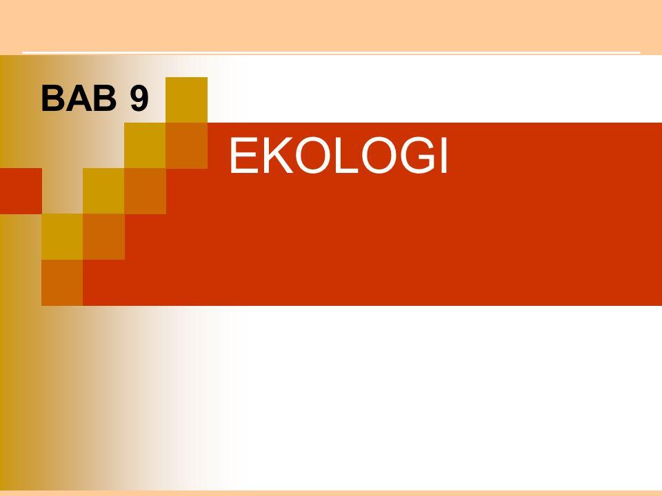 BAB 9 EKOLOGI