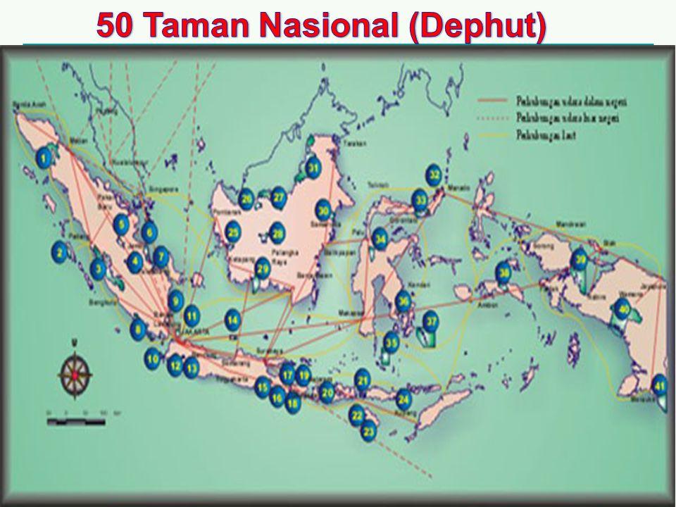 50 Taman Nasional (Dephut)