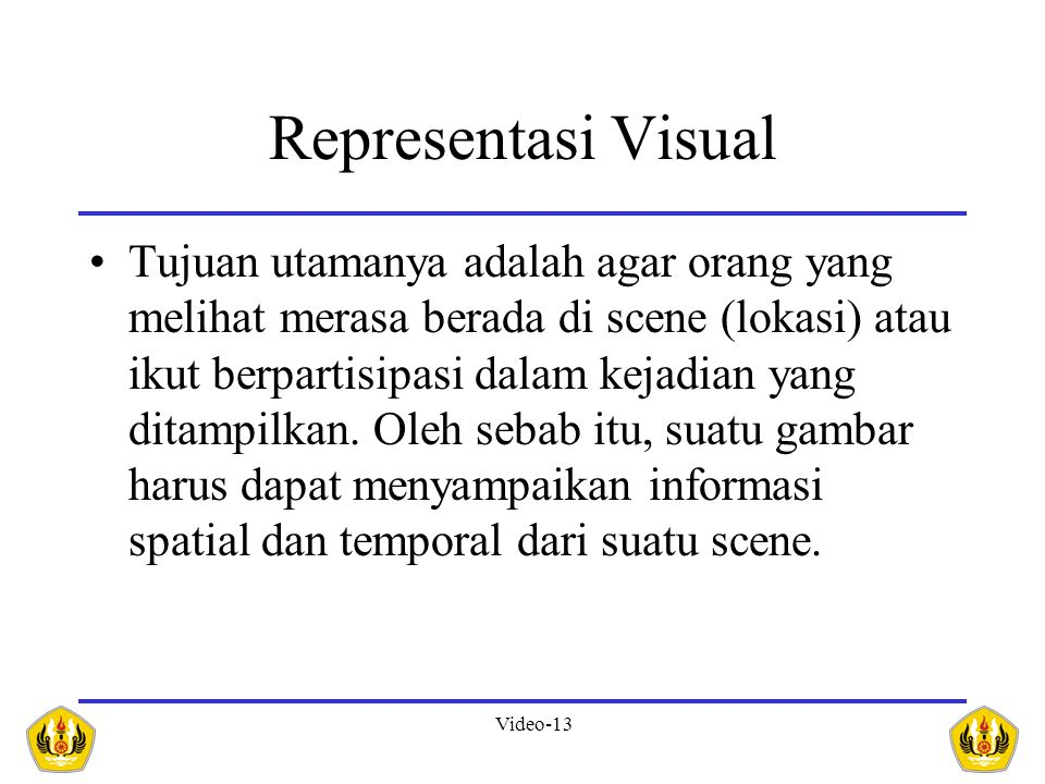 Representasi Visual