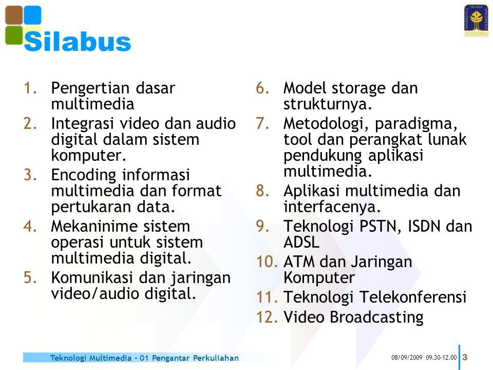 Silabus Pengertian dasar multimedia