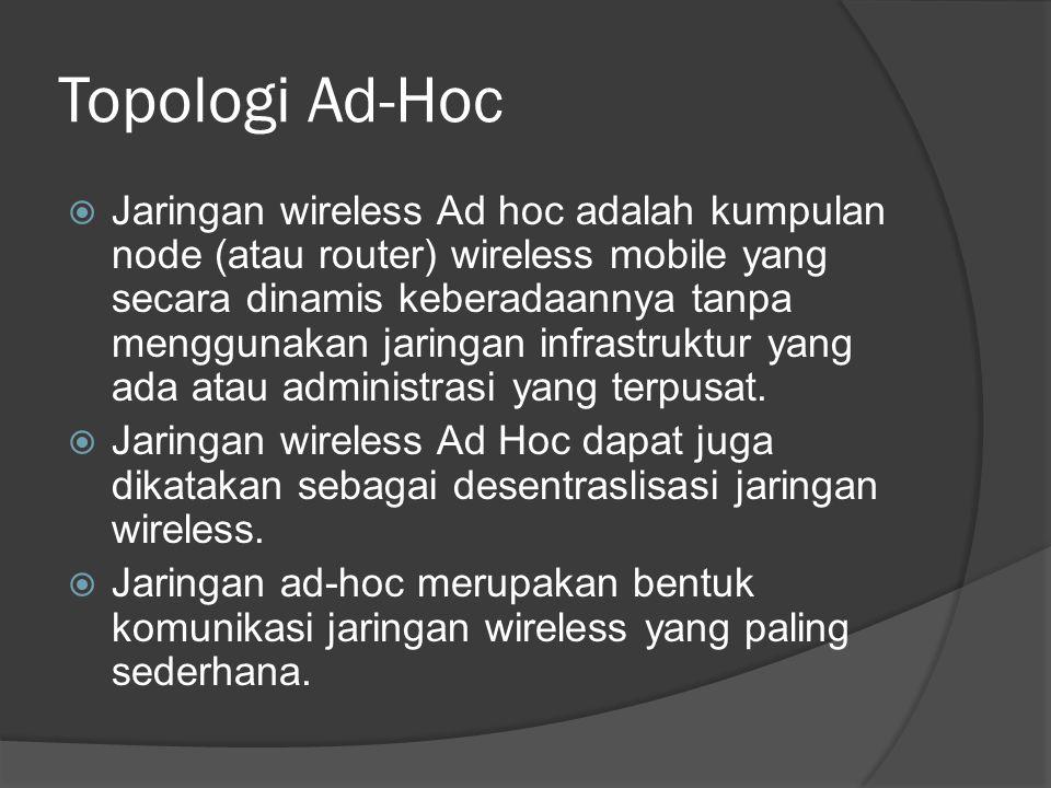 Topologi Ad-Hoc