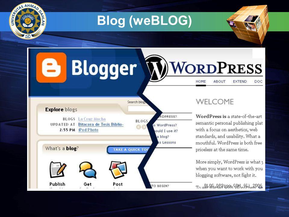 Blog (weBLOG)