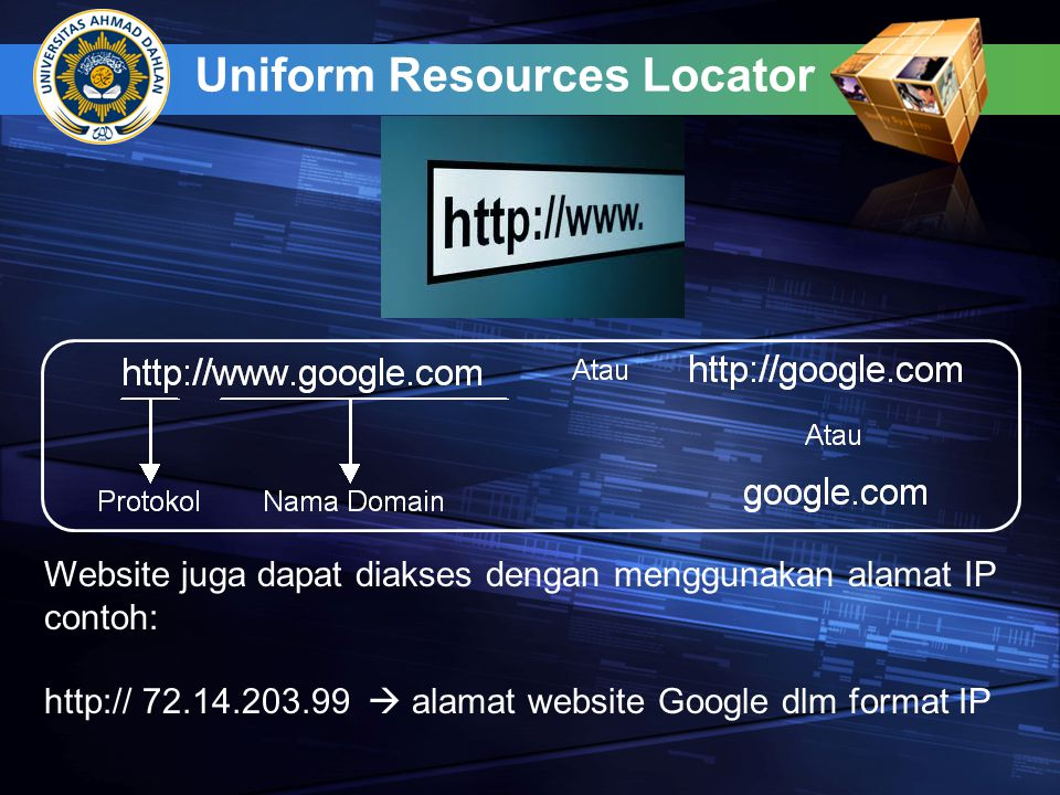 Uniform Resources Locator