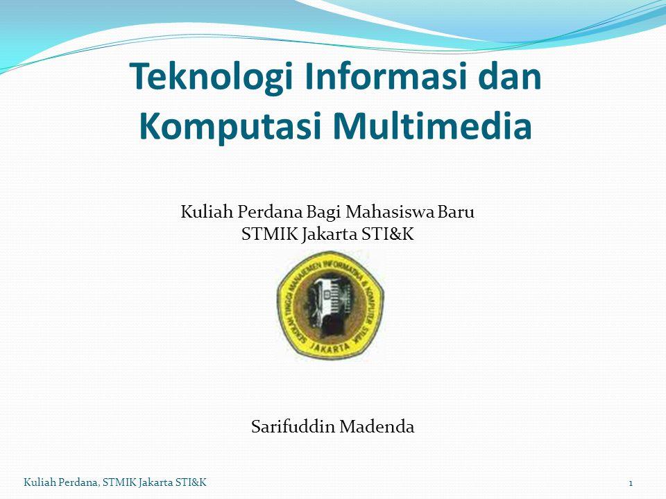 Teknologi Informasi dan Komputasi Multimedia