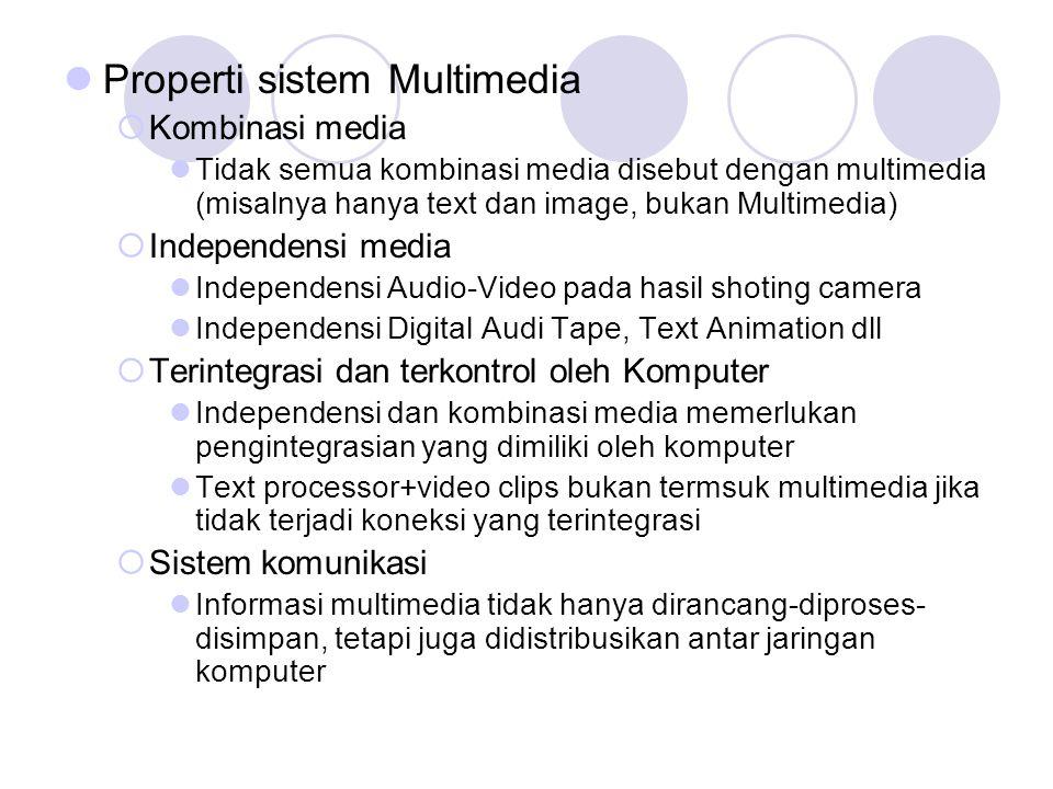 Properti sistem Multimedia