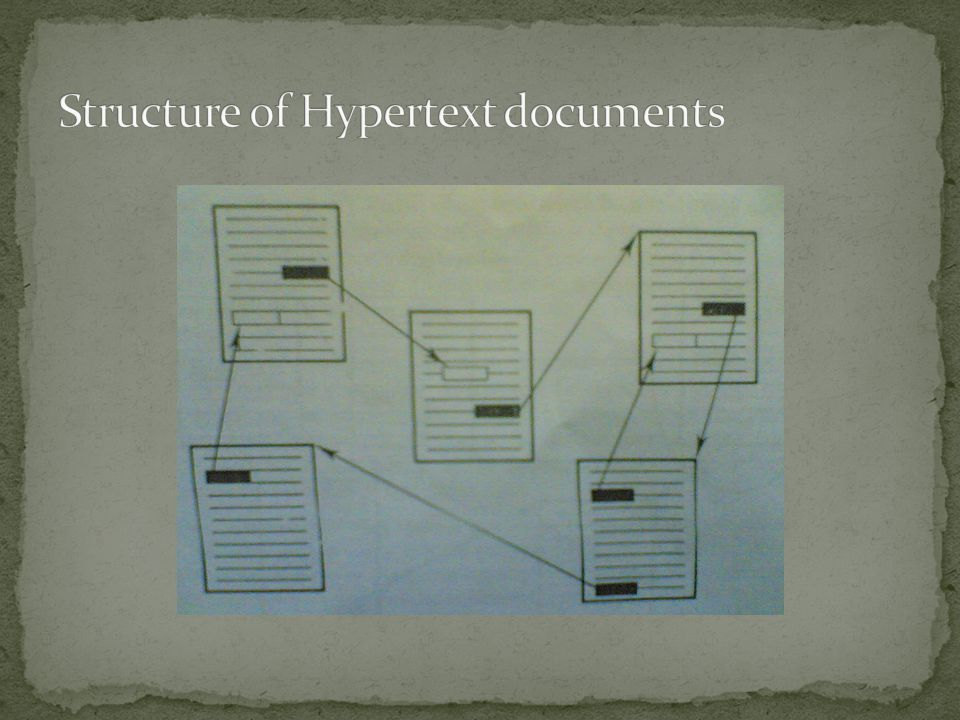 Structure of Hypertext documents
