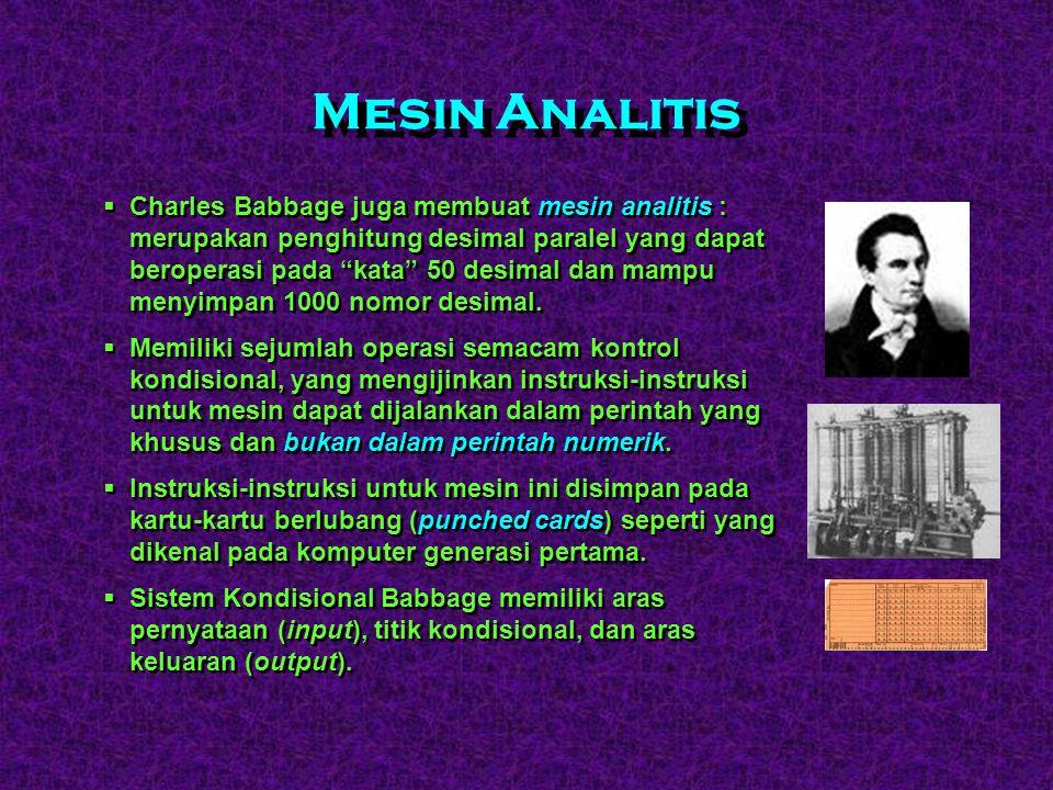 Mesin Analitis