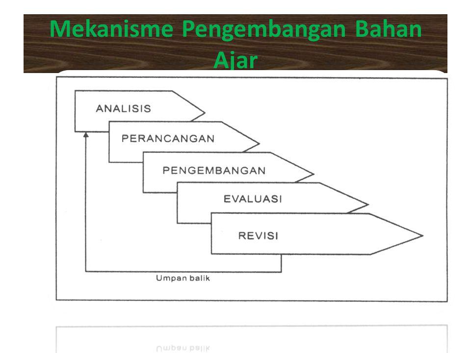 Mekanisme Pengembangan Bahan Ajar