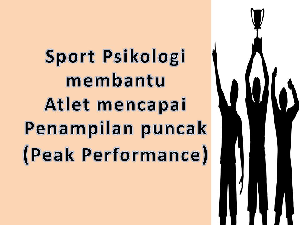 Sport Psikologi membantu