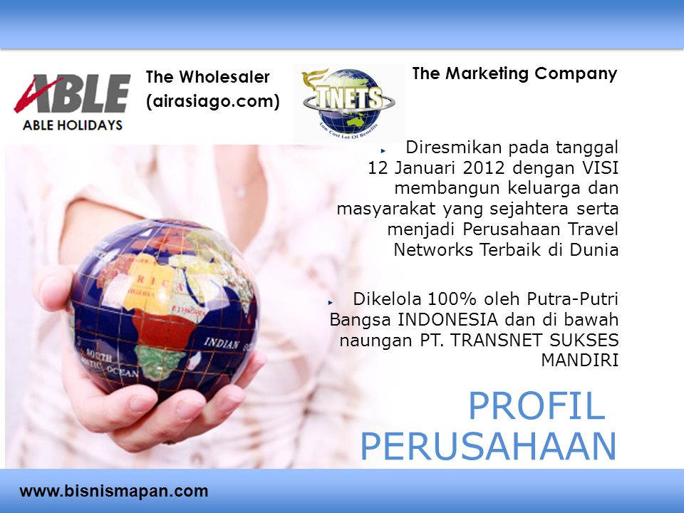 PROFIL PERUSAHAAN The Marketing Company The Wholesaler (airasiago.com)