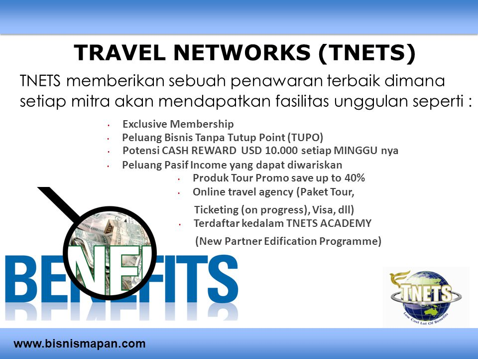 TRAVEL NETWORKS (TNETS)