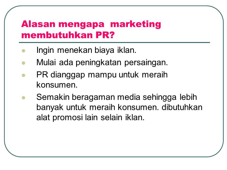 Alasan mengapa marketing membutuhkan PR