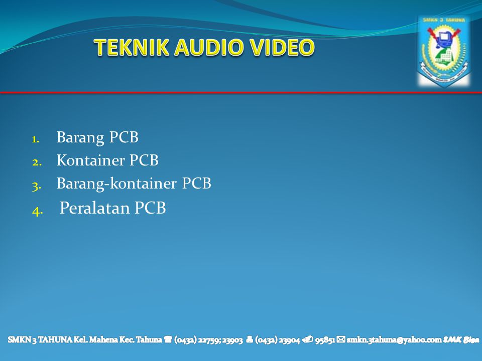Barang PCB Kontainer PCB Barang-kontainer PCB Peralatan PCB