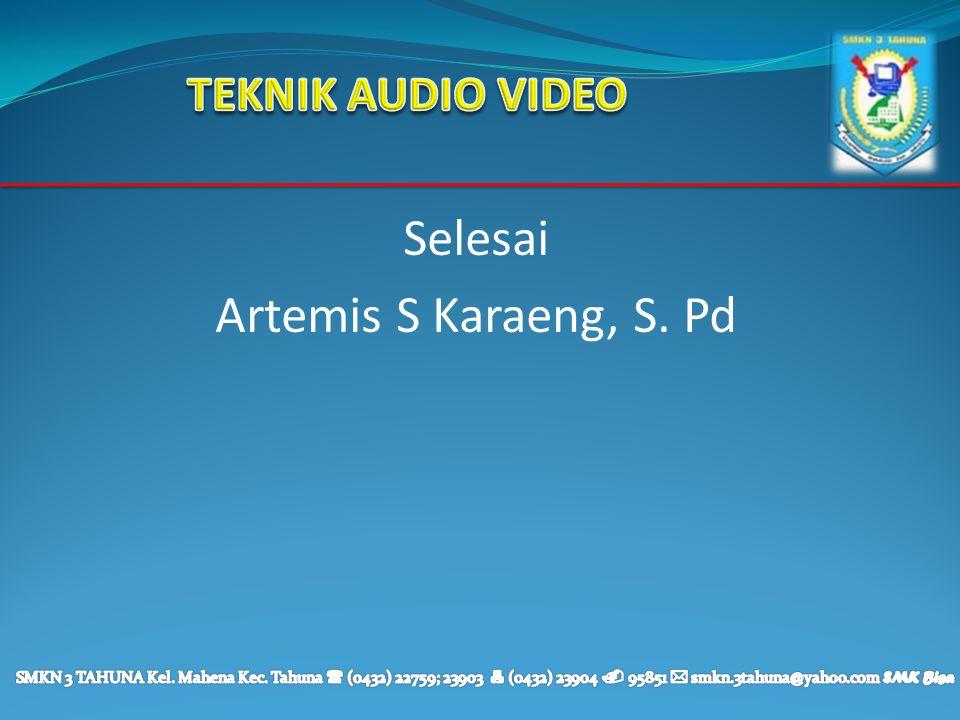 Selesai Artemis S Karaeng, S. Pd