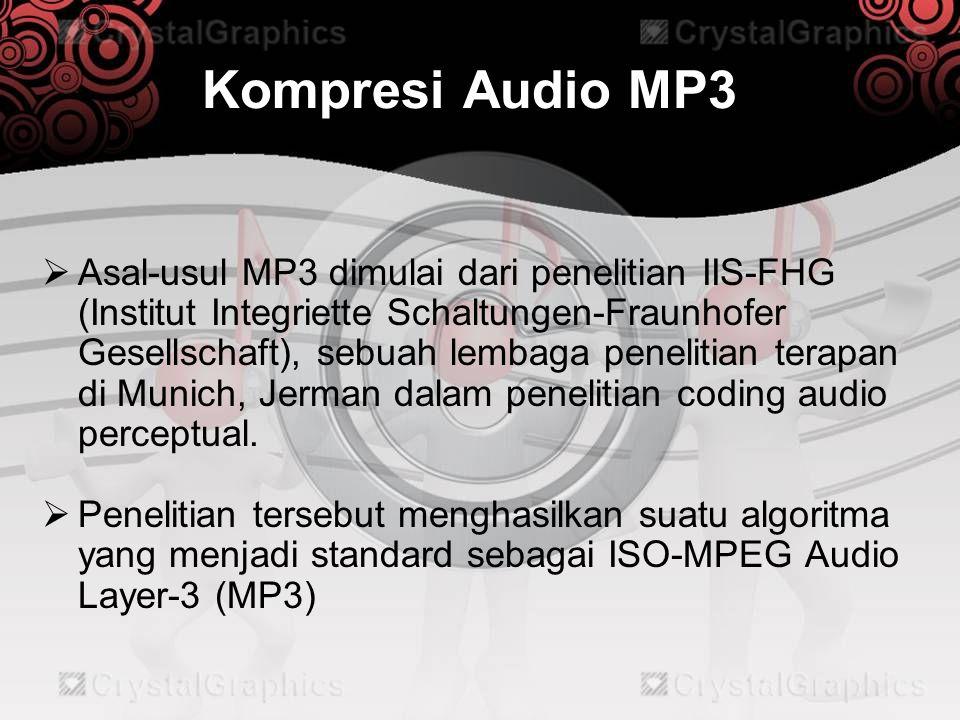 Kompresi Audio MP3