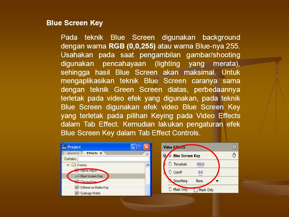 Blue Screen Key