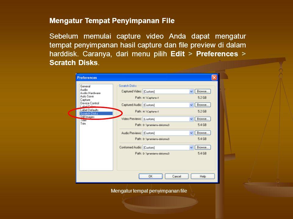 Mengatur Tempat Penyimpanan File