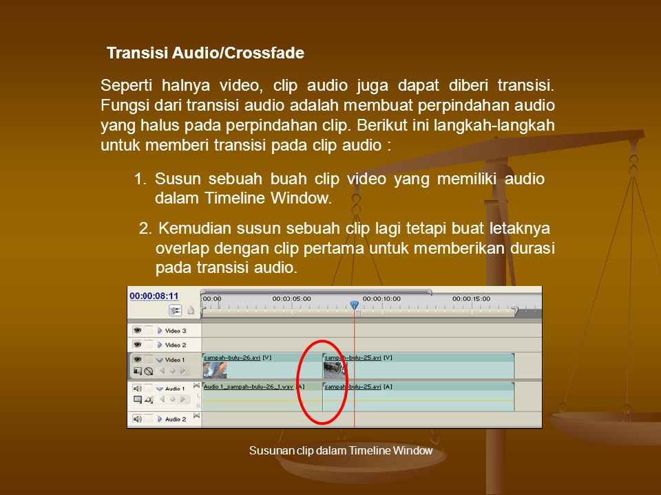 Transisi Audio/Crossfade