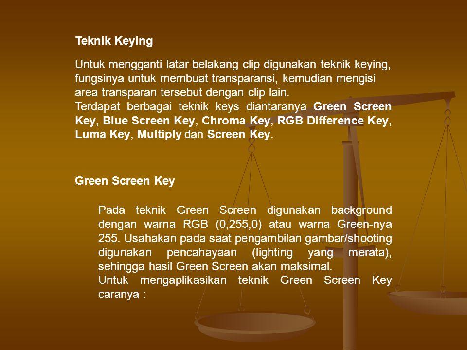 Teknik Keying