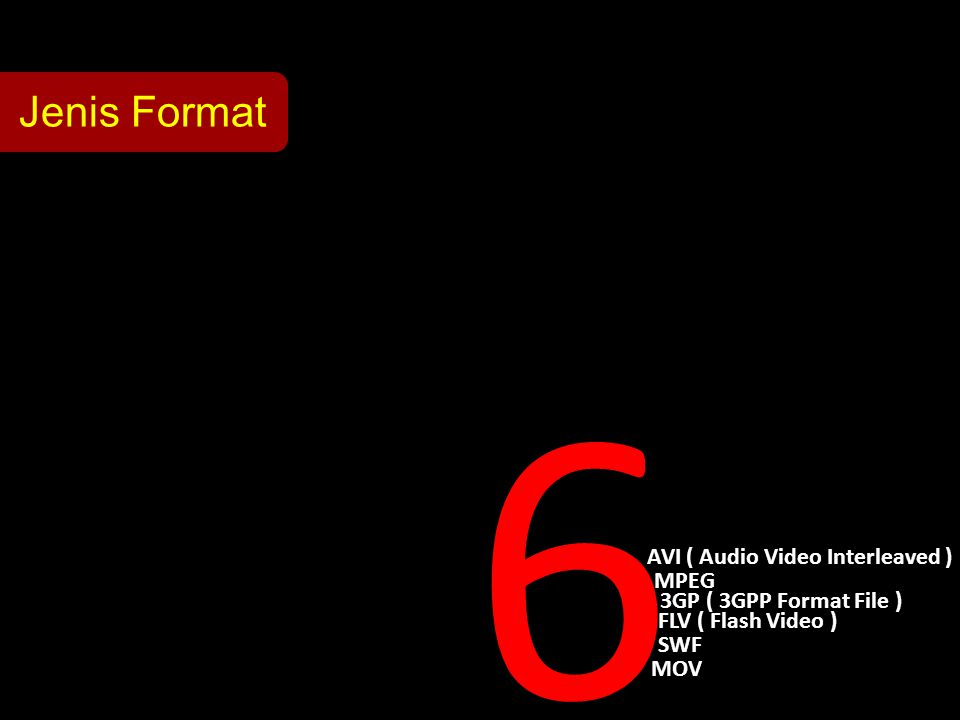 AVI ( Audio Video Interleaved )