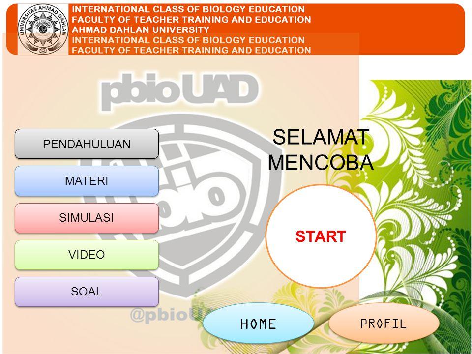 SELAMAT MENCOBA START