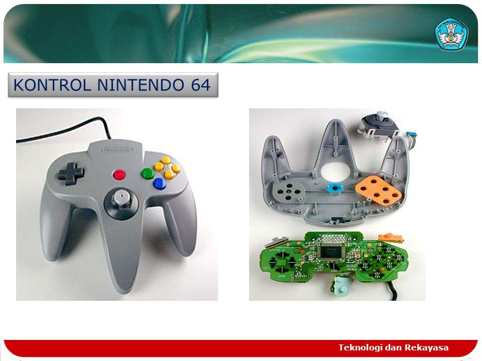 KONTROL NINTENDO 64 Teknologi dan Rekayasa