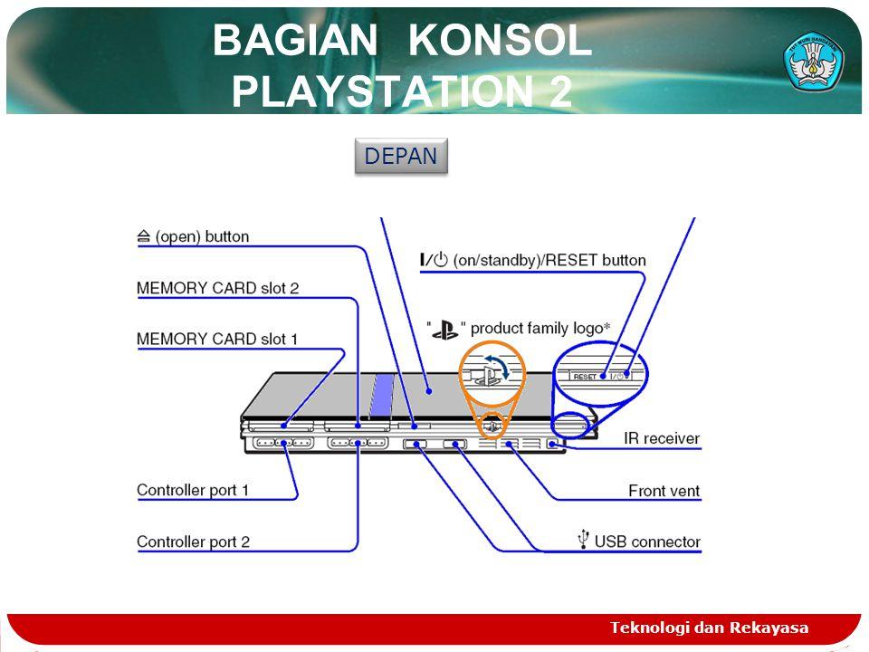 BAGIAN KONSOL PLAYSTATION 2