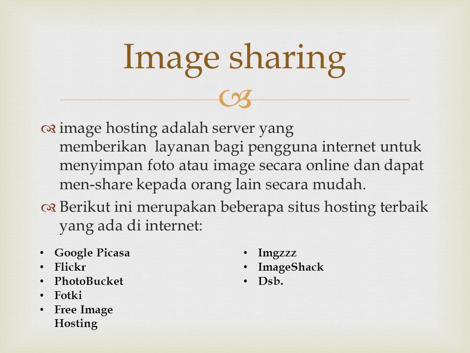 Image sharing