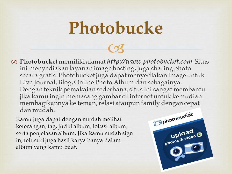 Photobucke
