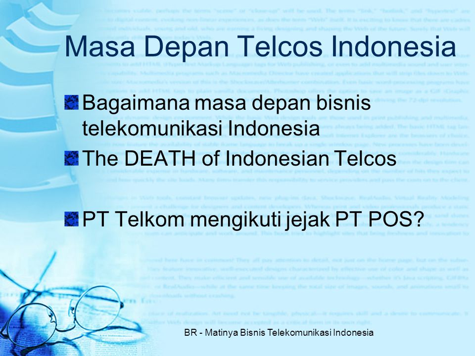 Masa Depan Telcos Indonesia