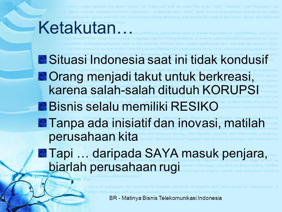 BR - Matinya Bisnis Telekomunikasi Indonesia