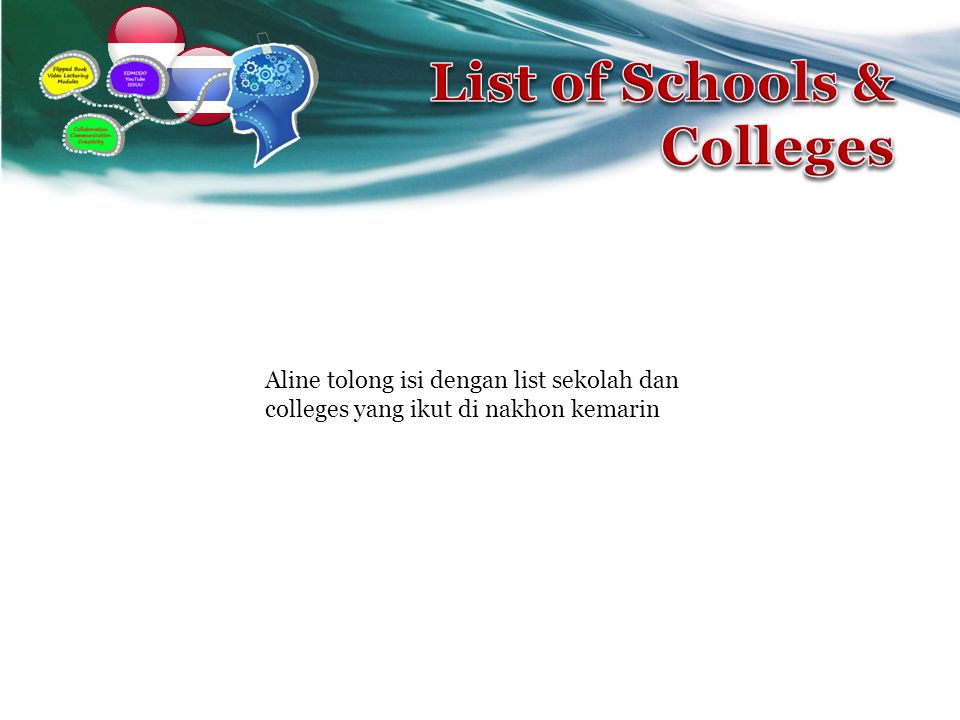 List of Schools & Colleges