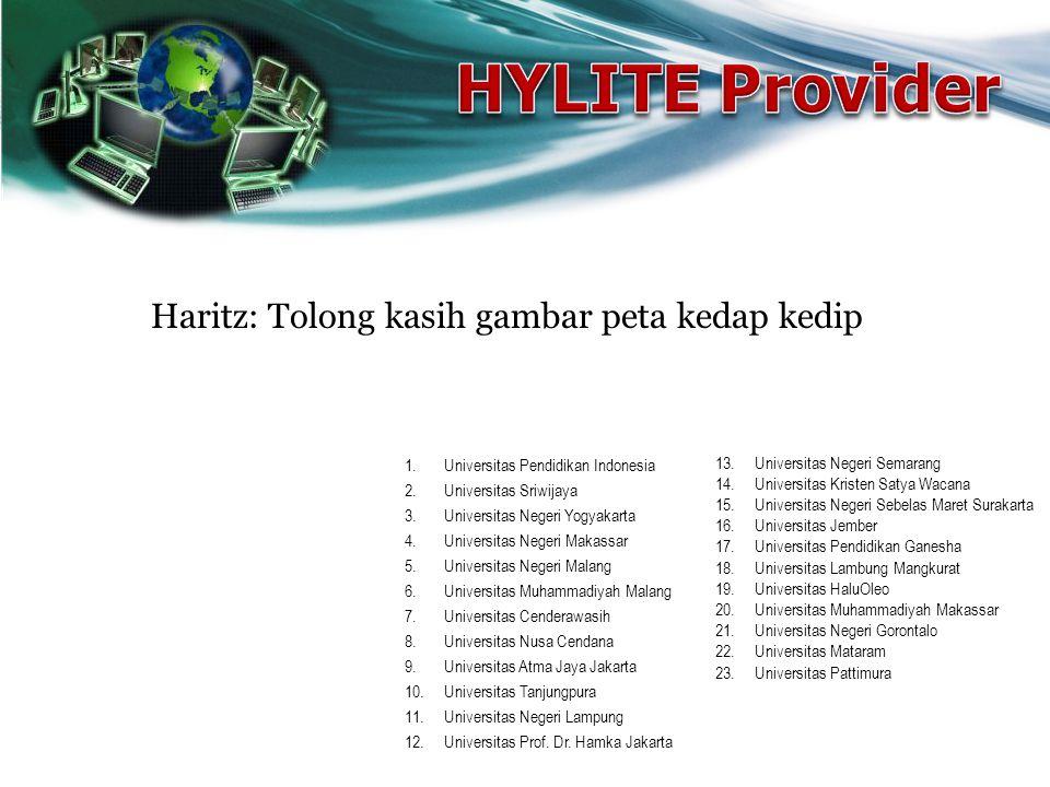 HYLITE Provider Haritz: Tolong kasih gambar peta kedap kedip