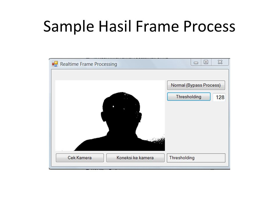Sample Hasil Frame Process