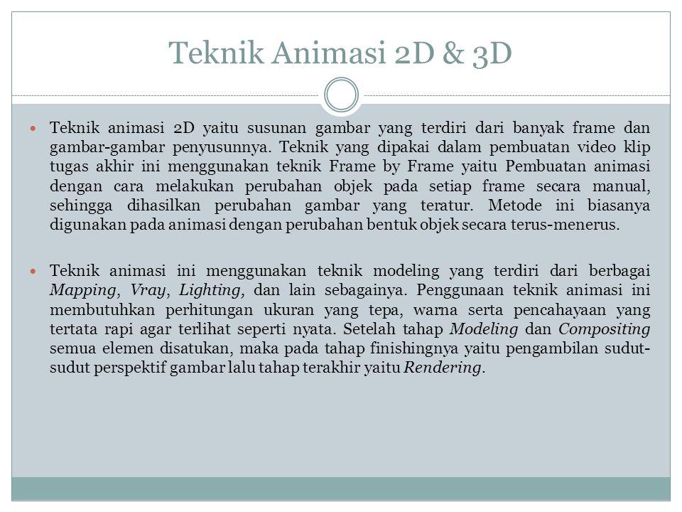 Teknik Animasi 2D & 3D