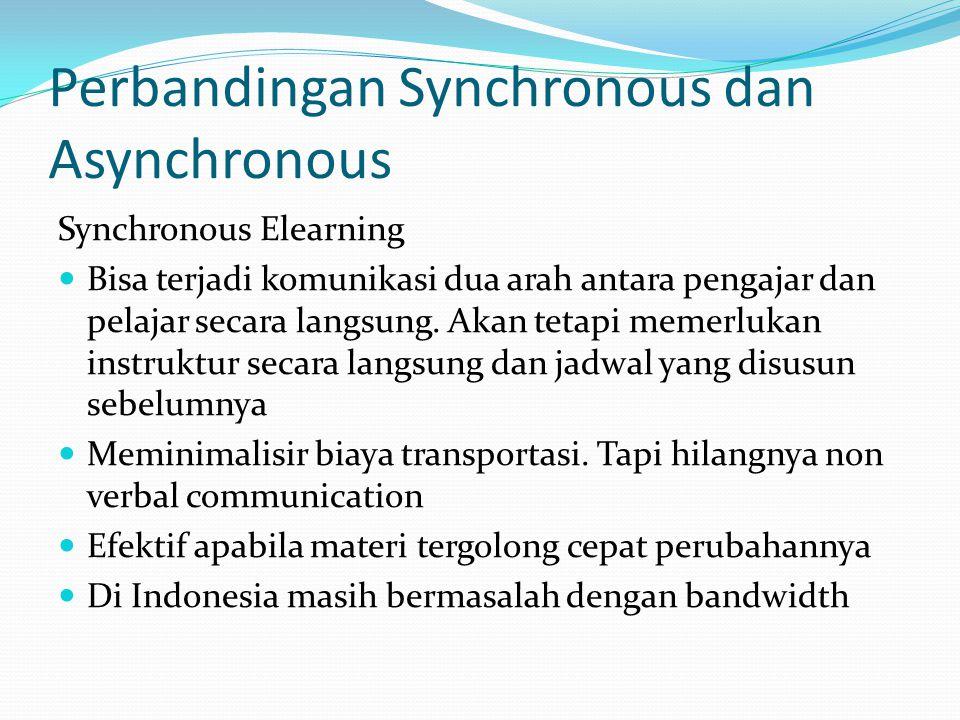 Perbandingan Synchronous dan Asynchronous
